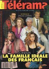 telerama n°2052 cannes ludmila mikael jean marie cavada graham greene 1989