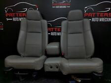 2009 FORD RANGER Set of Left & Right Vinyl Front Bucket Seats-Gray QF (WearMark)