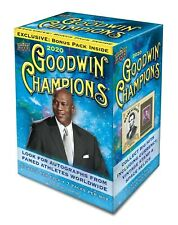 2020 Upper Deck Goodwin Champions Box, Michael Jordan & Lebron James auto's?