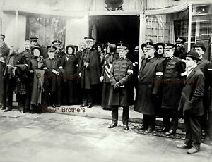 1912 Funeral William Booth Salvation Army Wife Officials Glass Photo Negative #4