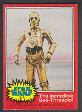 Topps Star Wars - Series 2 1977 - # 31A The Incredible See-Threepio