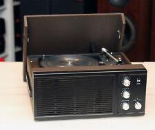 1977  Oberklasse Vintage Koffer Plattenspieler DUAL P70