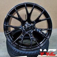 "22"" Hellcat Style Rims Gloss Black Fits Dodge Ram 1500 5x139.7 Truck Durango"