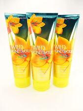 Bath Body Works 3 Wild Honeysuckle Ultra Shea Body Cream 8oz 24 hour Moisture