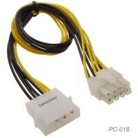 "MK-220 3.5/"" Desktop Front Bay 7-Pin SATA and 4-Pin Molex Power Adapter Bracket"