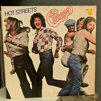 "CHICAGO - Hot Streets - 12"" Vinyl Record LP - EX"