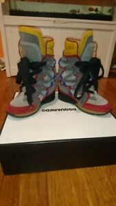DSQUARED2 Womens Ankle Boot SZ 37
