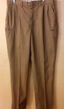 RIVERSIDE BUSINESS CASUALS PANTS BEIGE, TAN 36X35 (not FR) EUC