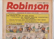 ROBINSON n°24 du 11 Octobre 1936. Mandrake, Guy l'Eclair...
