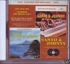 SANTO & JOHNNY - Encore / Hawaii - 2 LPs on 1 CD
