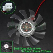 65mm DC 2pin Computer VGA Video Card Heatsink Cooler Cooling Fan Multi-Size Hole
