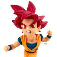 Super Saiyan God Goku Dragon Ball Z Authentic Banpresto WCF Series 7 Figure