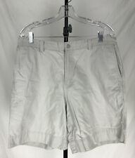 Columbia Sportswear Lightweight Hiking Shorts Zipper Pockets Men's Size 35 Beige