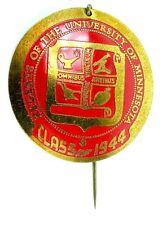 New listing Vintage 1944 Regents Of The University Of Minnesota Class Medal Stick Pin
