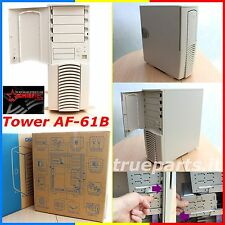 CHIEFTEC™ AF-61B★PROFESSIONAL ATX PC midiTOWER CASE 4 BAY 5,25 6 BAY 3,5★NUOVO