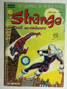 STRANGE #149 French color Marvel Comic (1982) Spider-Man Iron Man DD VG/VG+