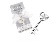 New listing Kate Aspen Simply Elegant Key My Heart Bottle Opener Wedding Party Favor Lot 8