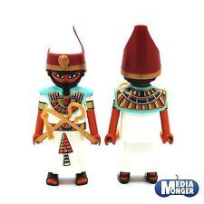 playmobil Egyptiens Roi Figurine: Pharao Imhotep Ramses avec accessoires RAR