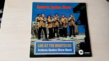 Ambros Seelos Show, Live At The Nightclub ( signed by artists on back ) lp