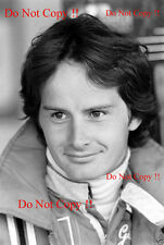 Gilles Villeneuve Ferrari F1 Portrait 1978 Photograph