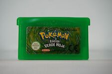 Pokemon Edición Verde Hoja Game Boy Advance Gba guarda partida en español 4296