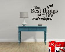Cosas De La Vida Decoración Pared Dormitorio 3d Mariposas Living Art Deco palabras