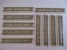 AF384k MARKLIN LOT 10 RAILS DROITS HO