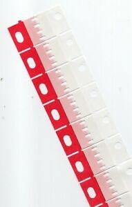 50 Super 8 film tape splice patches  to fit Quick-splice, Hama, Agfa Splicers
