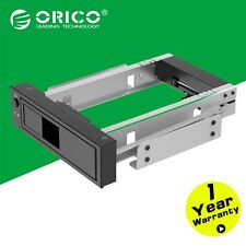 "ORICO  5.25"" CD-ROM Space to 3.5'' SATA HDD Mobile Rack Bracket Enclosure Black"