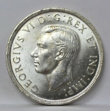 1937 Canada Silver Dollar George VI Km37 - CH BU #01188303g