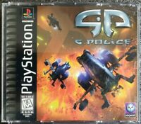 G-Police (Sony PlayStation 1, 2 Disc, 1997) Complete w/ Manual Guaranteed VGC