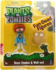 Plants vs. Zombies Fun-Dead Figures Disco Zombie & Wallnut 3-Inch Figure 2-Pack