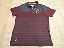 Kangol Mens Casual Classic Polo Shirt Button Up Collar Size Medium