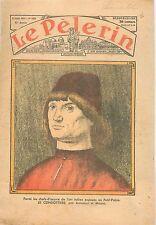 Portrait d'homme Le Condottiere Antonello da Messina de Messine Louvre 1935