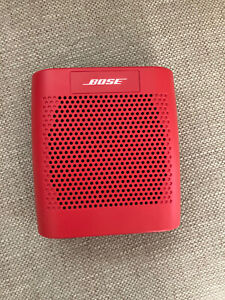 Bose SoundLink Color Bluetooth Wireless Portable Speaker Coral Red - Brand New