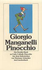 in- MANGANELLI : PINOCCHIO       1517 a   Erstausgabe