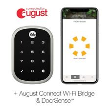 Yale YRD256-CBA-OBP Assure SL Connected By August Touchscreen Smart Lock