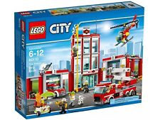 60110 LEGO City Fire Station 919 Pcs NEW SEALED MINT Free PRIORITY Shipping!
