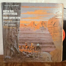 Fiedler Grofe Grand Canyon Suite / Bernstein Candide LP RCA Living Stereo VG+