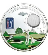 Cook Islands 2012 $5 PGA TOUR - HOLE IN ONE 30 g Silver Coin