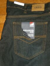 NWT IZOD RELAXED FIT STRAIGHT LEG JEANS SZ: 46 X 30