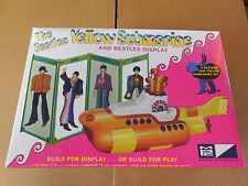 MPC-779/12 THE BEATLES YELLOW SUBMARINE AND BEATLES DISPLAY MODEL KIT 1/25 NIB