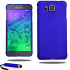 For Samsung Galaxy Alpha G850 Armour Hard Shell Case Back Cover + Film + Stylus