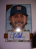 2020 Topps Gallery Lance McCullers Jr. AUTO Houston Astros Rare!! SP /25