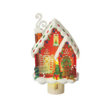 Santa's Workshop Christmas Night Light