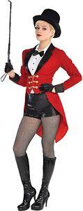 Circus Master Ringmaster Women SMALL Jacket/Shorts/Suit Costume Dress Up Cosplay