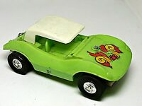 VINTAGE ELDON 1970'S  LIME DUNE BUGGY 1/32 SLOT CAR WORKING CONDITION