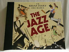 """BRYAN FERRY ORCHESTRA The Jazz Age 6 vinyl 10"""" discs LP SIGNED autographed Roxy"""