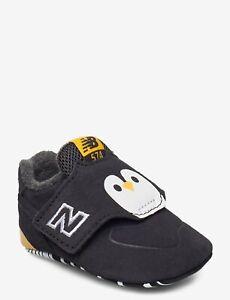 New Balance Kids' Shoes Size 3 Baby ( infants 6-9 Months) Dark Grey Penguin NEW