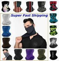 Bandana Face Mask Shield Headwear Neck Gaiter Cover Washable Reusable Breathable